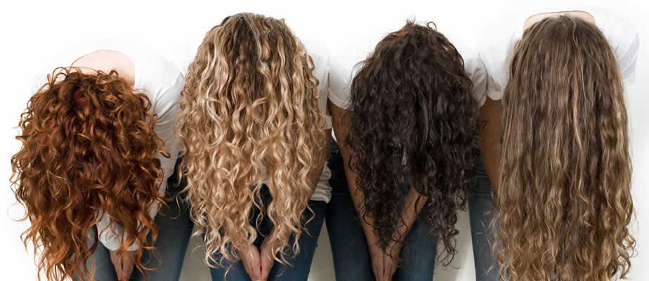 موهای فر و نگه داری از آن