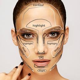نکات مهم آرایش بر اساس فرم صورت